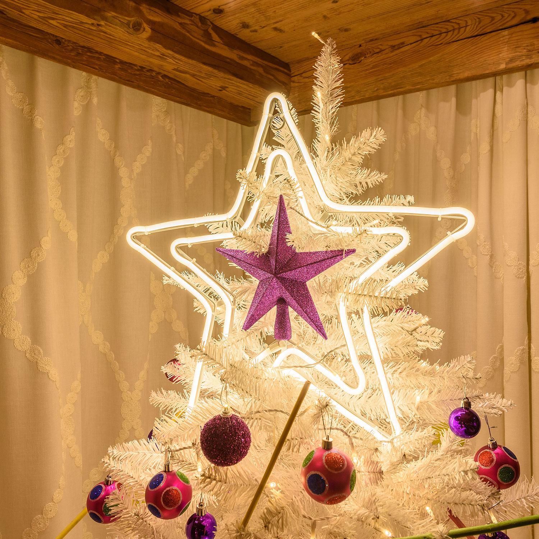 Puntale A Stella Per Albero Di Natale.Puntali Per Alberi Di Natale 2019 Idee Semplici E Fai Da Te Luminal Park