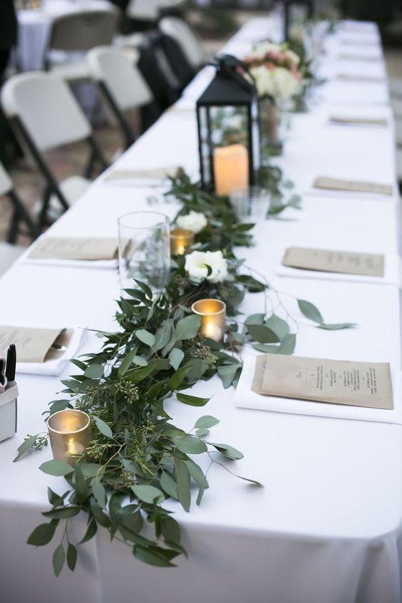centre de table d un mariage a l italienne