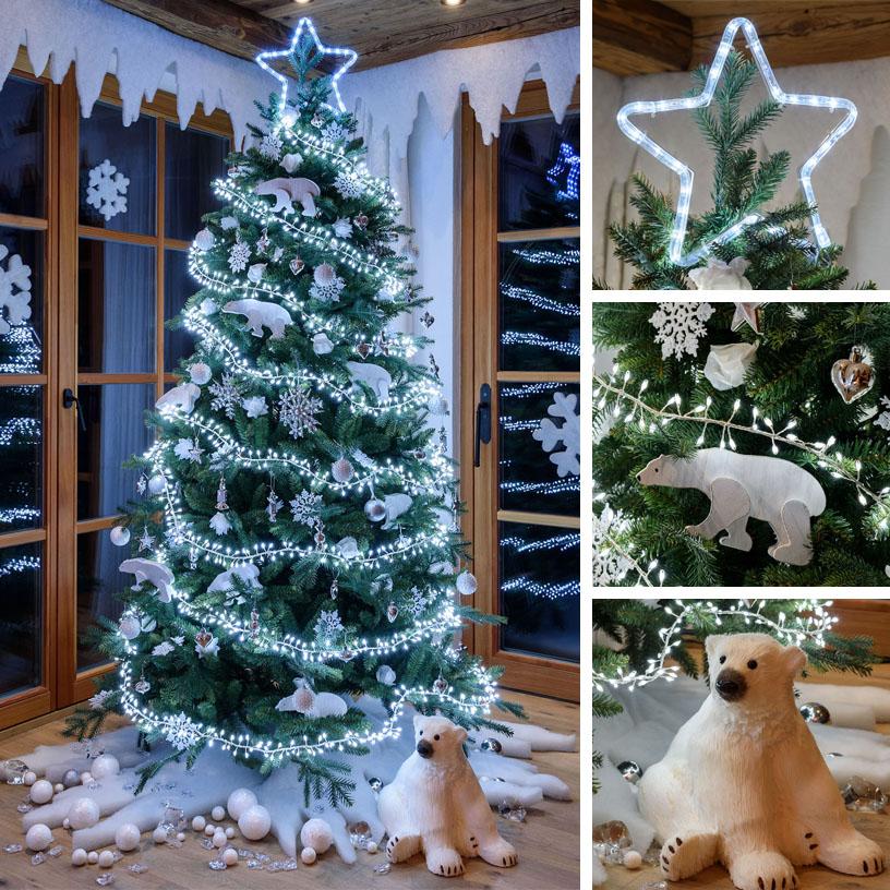 Alberi Di Natale Addobbati Immagini.18 Idee Per Alberi Di Natale Originali Luminal Park