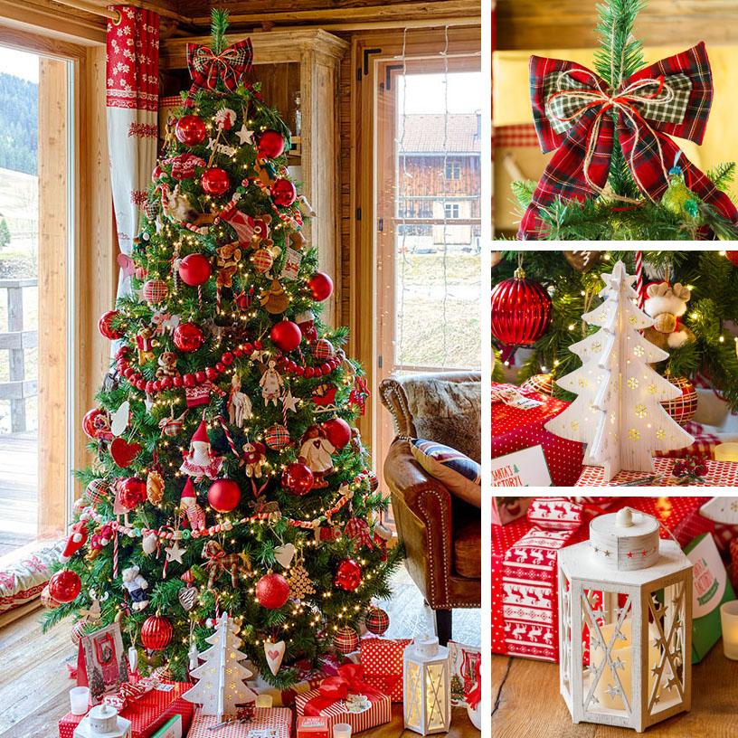 Albero Di Natale Rosso.18 Idee Per Alberi Di Natale Originali Luminal Park