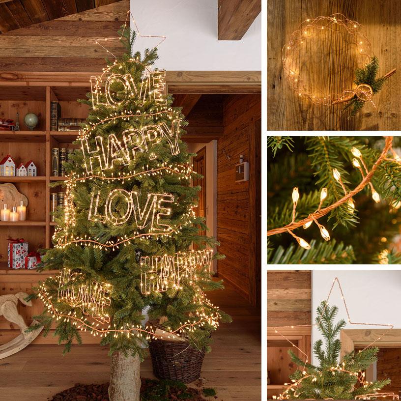 18 Ideas Para Decorar El árbol De Navidad Luminal Park