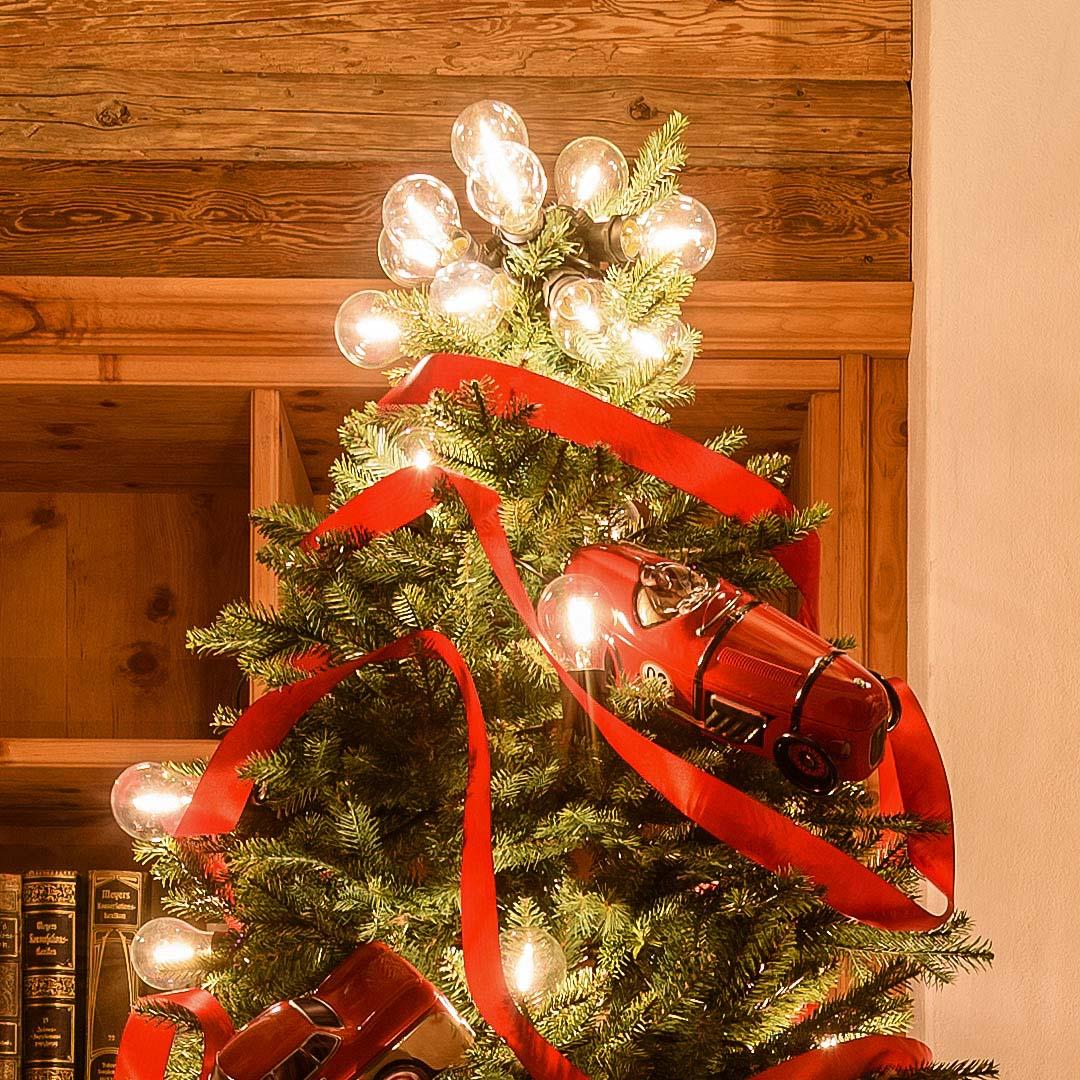 Idee Creative Per Natale puntali per alberi di natale 2019: idee semplici e fai da te