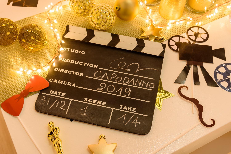 Decoración de Fin de Año temática cine