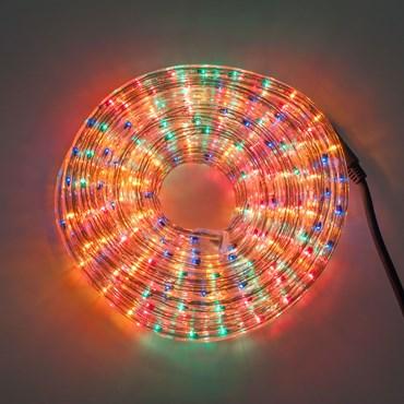 Manguera de luces incandescentes de colores Ø 13 mm 230V, 10 m