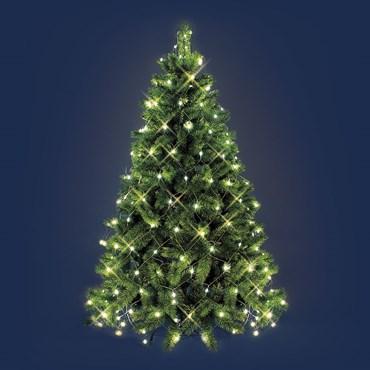 Red de luces para árbol de Navidad 3,8 x h. 2m, 195 Led cálido