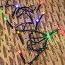 2 x Lichterkette 4 m, 40 LEDs Multicolor